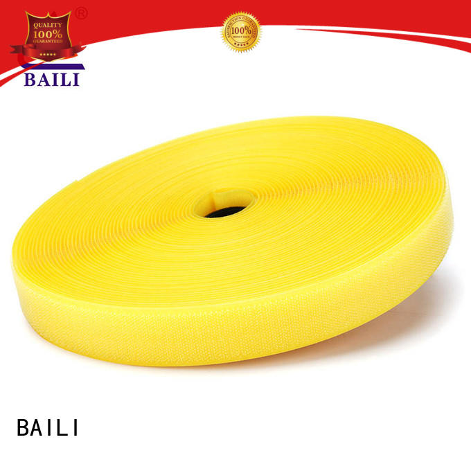 BAILI A grade quality hook and loop customized for leather-ware