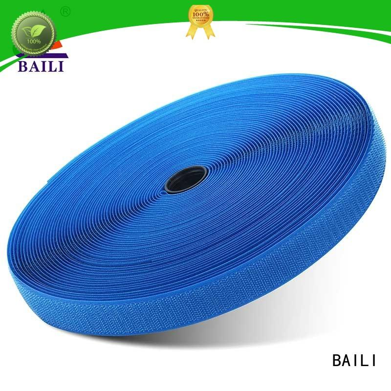 BAILI nylon hook and loop wholesale for bags