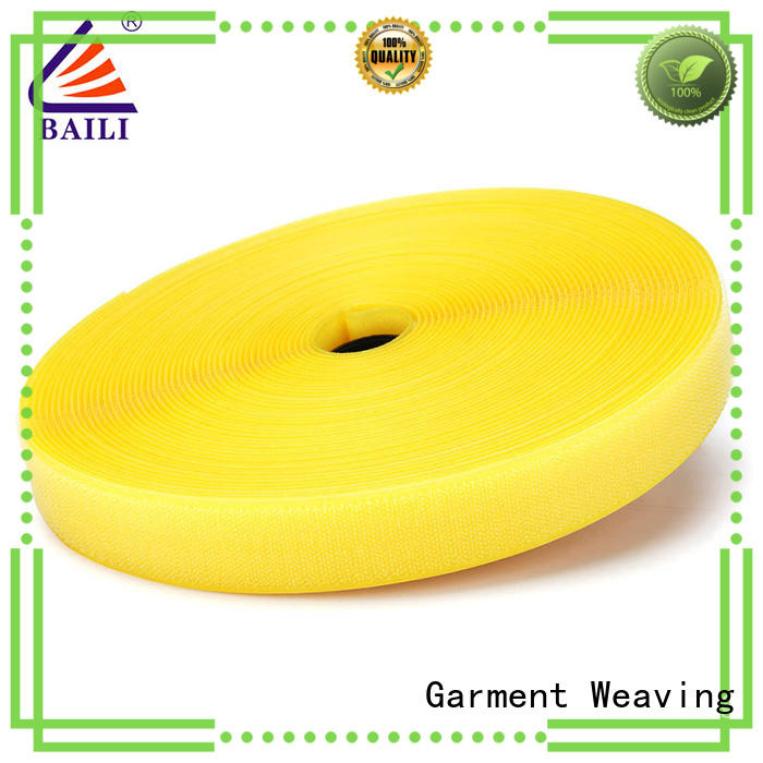 BAILI A grade quality hook and loop tape factory direct supply for shoes