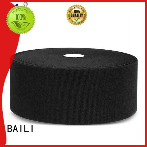 plastic hook and loop fastener sewing 300mm wide for bags BAILI
