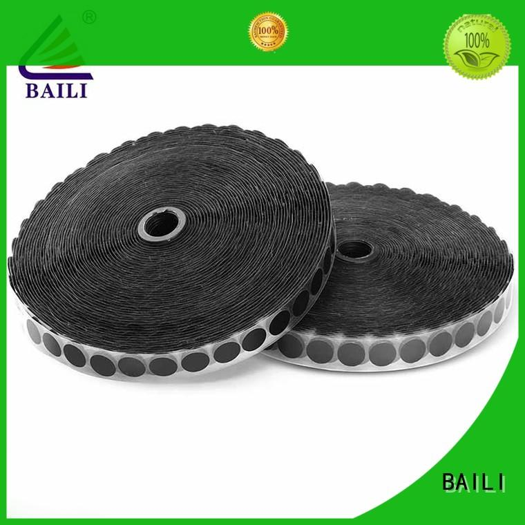 BAILI stable self adhesive hook and loop supplier for wood