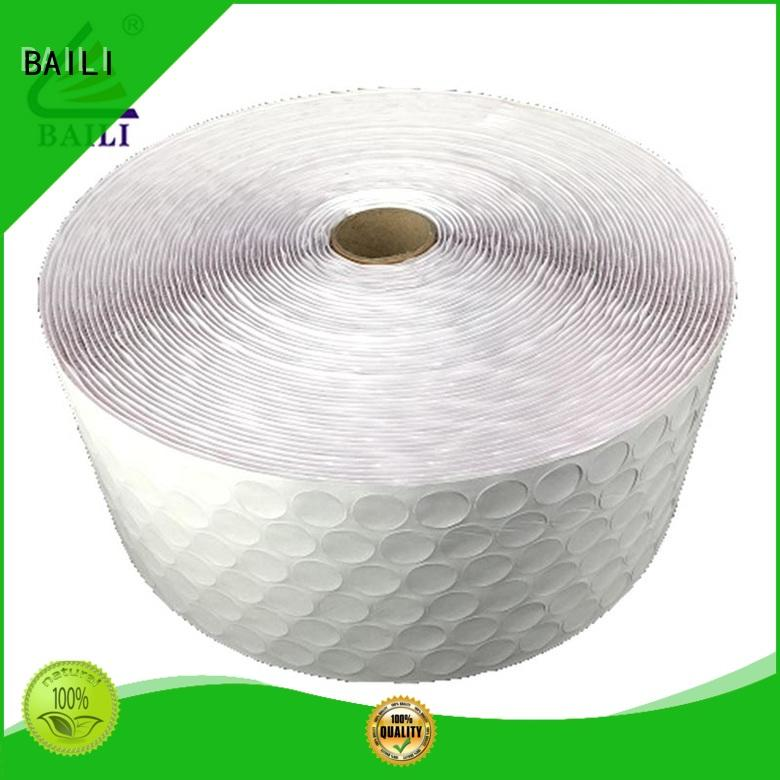 high viscosity self adhesive hook and loop tape manufacturer for photo frame BAILI