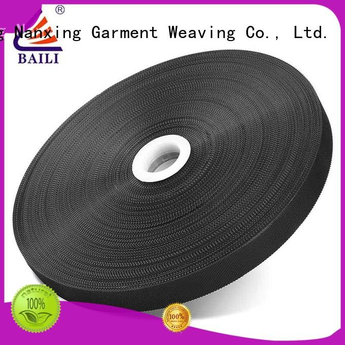 molded fastener tape manufacturer for shoes BAILI