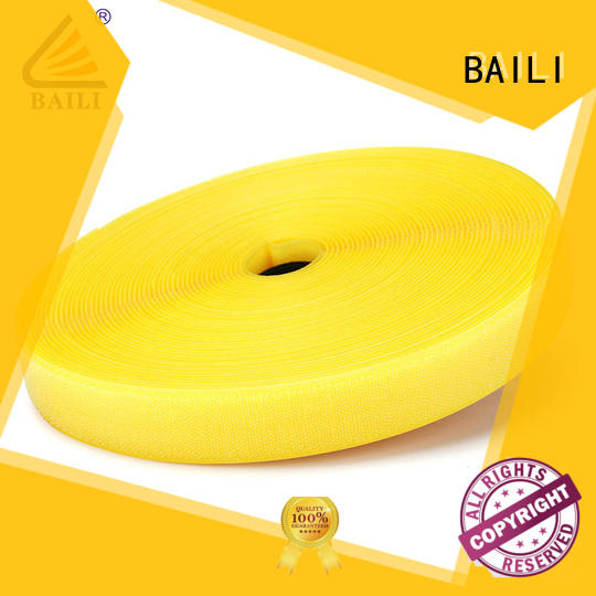 BAILI durable hook and loop tape for sewing customized for costumes