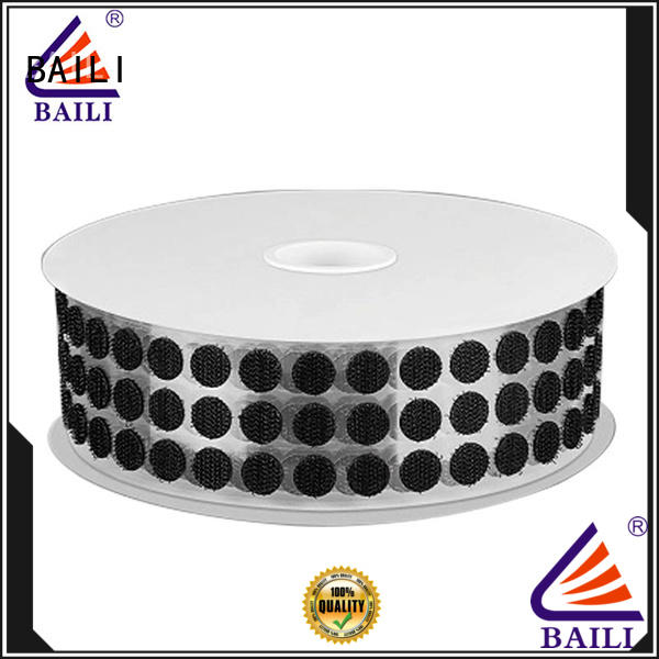BAILI real adhesive hook and loop tape supplier for wall