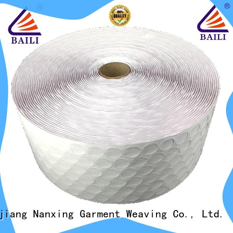 BAILI high viscosity hook & loop tape self adhesive customized for wall
