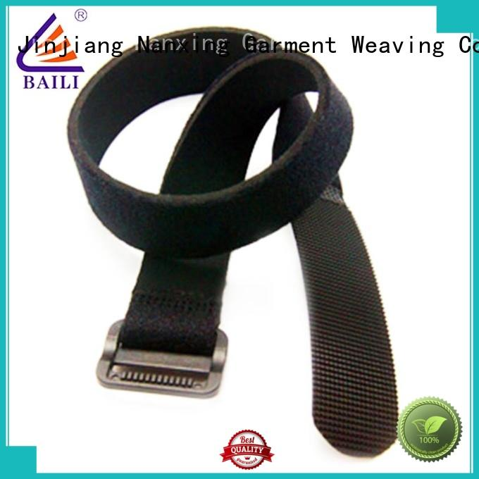 BAILI multi-functional hook and loop cable ties wholesale for bundle