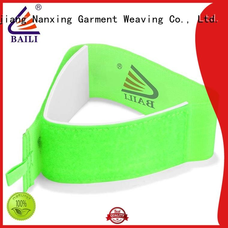 BAILI hot selling hook and loop ski straps supplier for carrying skis
