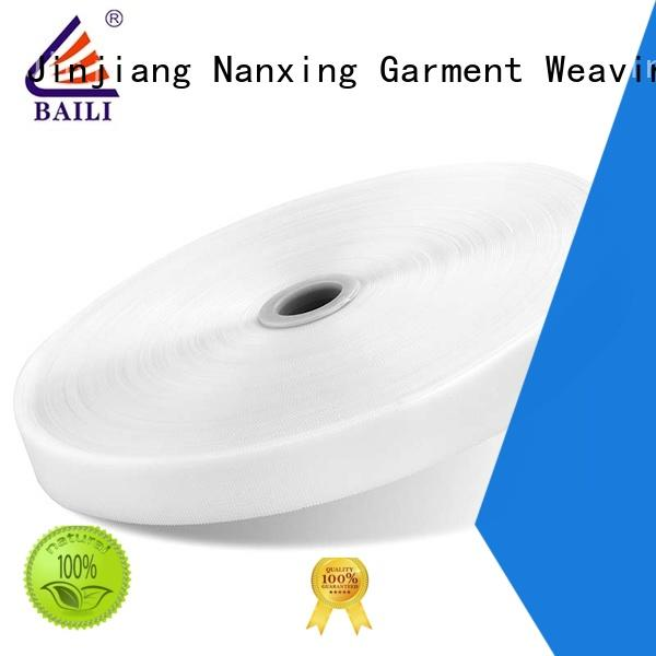 BAILI nylon hook and loop fastener sewing supplier for shoes