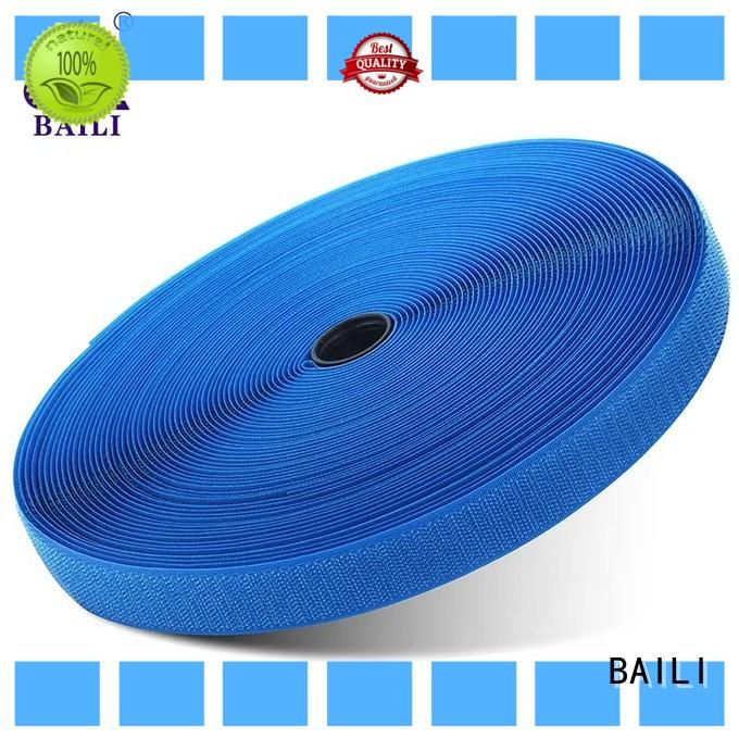 strong peeling strength hook and loop tape A grade quality for curtain BAILI