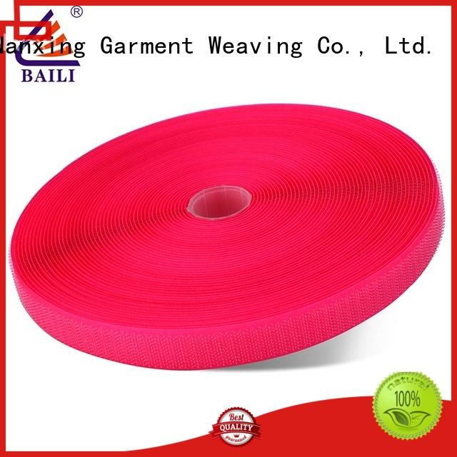 BAILI eco-friendly hook and loop tape for sewing customized for curtain