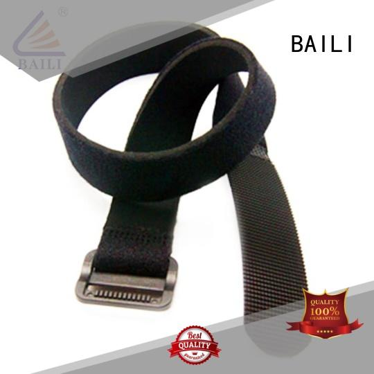 BAILI multi-purpose hook and loop straps supplier for cable ties