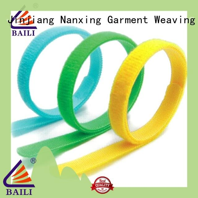 strap hook and loop nylon for cable ties BAILI