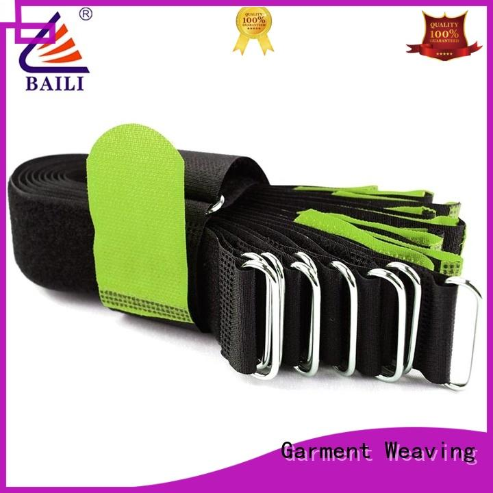 BAILI wrap tie adjustable hook and loop fastener strap wholesale for bundle