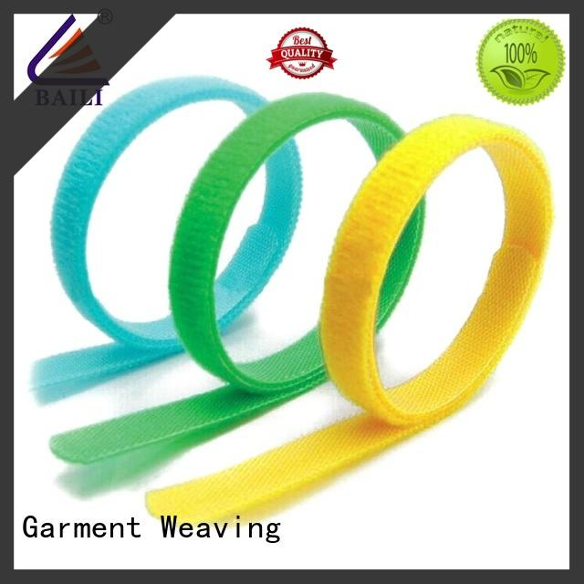 hook & loop cable ties multicolor for luggage BAILI