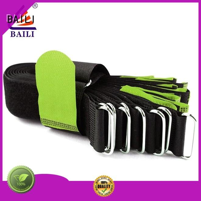 BAILI reusable elastic hook and loop strap nylon for medical equipment