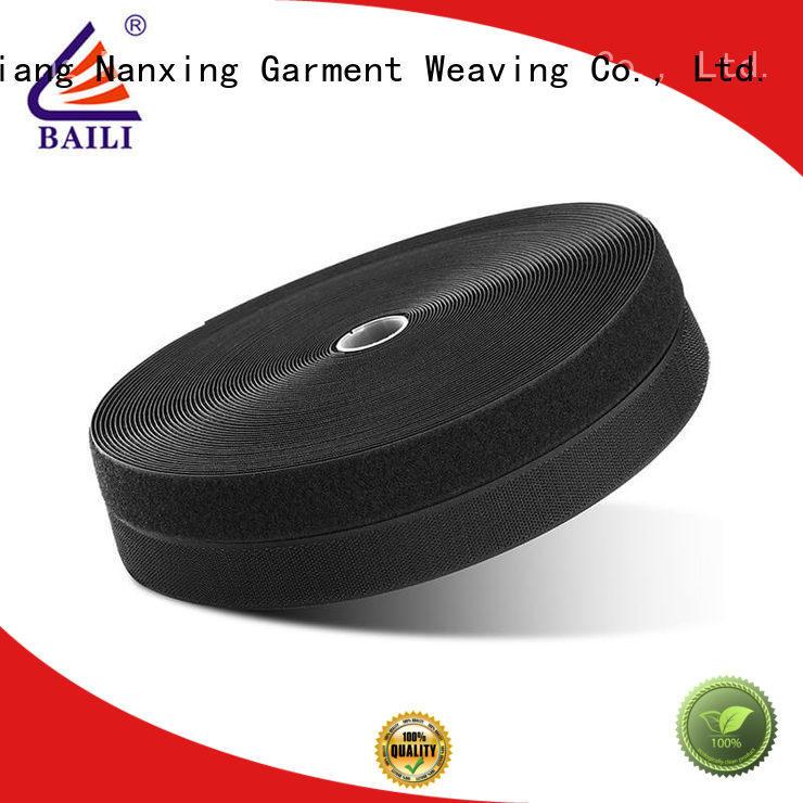 BAILI quality hook loop manufacturer for shoes