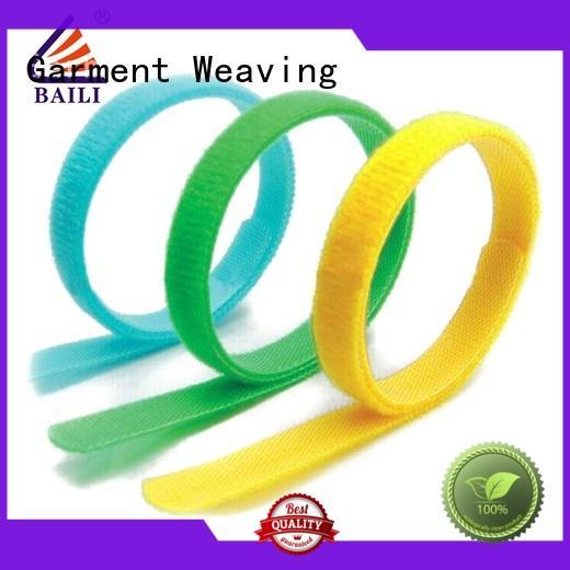 BAILI oem hook and loop straps manufacturer for bundle