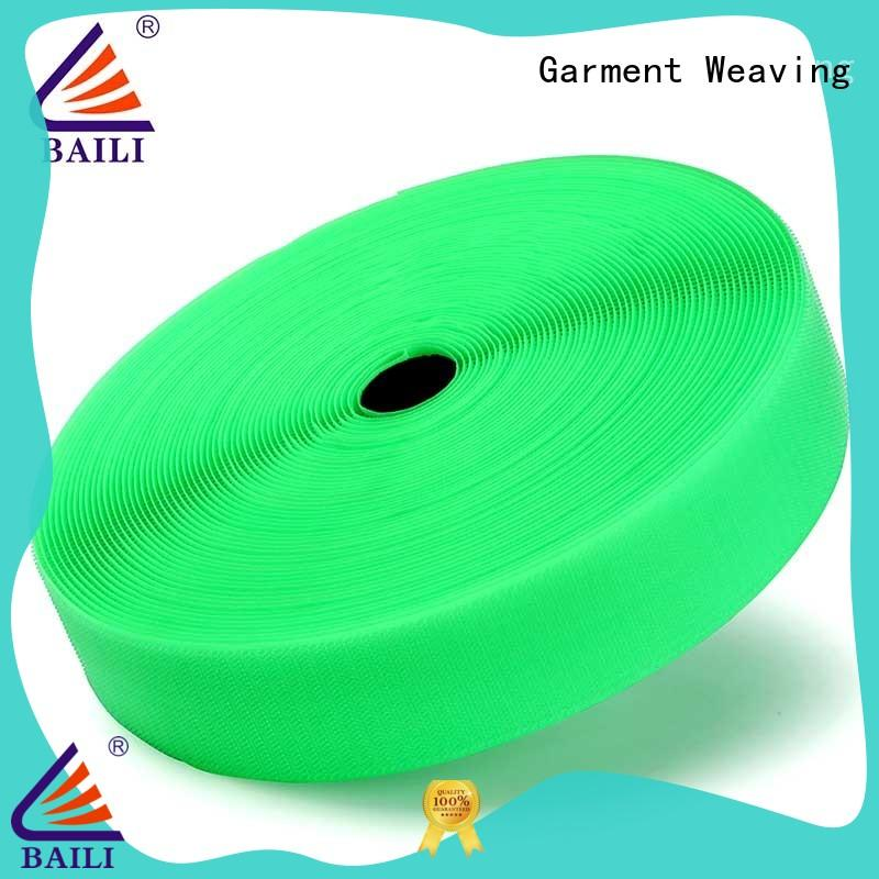 BAILI durable hook and loop fastener tape factory direct supply for curtain